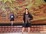 Brocade fashion show takes place in Dak Nong