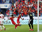 Vietnam beat Jordan to enter Asian Cup quarters