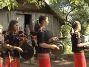 Unique female gong team in Central Highlands