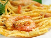 West Lake shrimp cakes: Hanoi's special savory snack