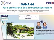 OANA 44: For a professional and innovative journalism