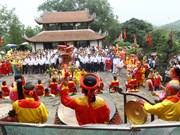 Doi Son pagoda festival in Ha Nam province