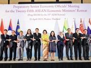 ASEAN economic ministers discuss RCEP negotiations