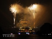 Fireworks display celebrates Vesak 2019