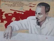 President Ho Chi Minh portrait in posters