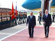 Prime Minister arrives in Moscow for official visit to Russia
