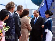 PM pays official visit to Sweden