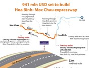 941 mln USD set to build Hoa Binh- Moc Chau expressway