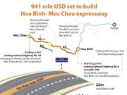 941 mln USD set to build Hoa Binh- Moc Chau expressway