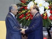 Vietnamese, Malaysian PMs meet