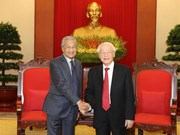 Vietnamese leaders meet Malaysian PM