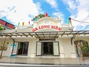 Hanoi people surprised with Long Bien station's new makeover