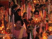 Khmer people in Soc Trang celebrate Sene Dolta festival