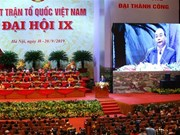 Vietnam Fatherland Front's Ninth Congress opens in Hanoi