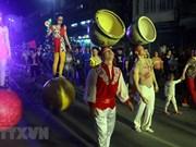 Street circus amazes spectators in Quang Ninh