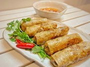 Hanoi's Fried Spring Roll