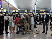 Vietnamese citizens brought home from UK
