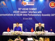 ASEAN Leaders' Interface with Representatives of ASEAN Inter-Parliamentary Assembly