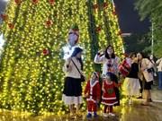 Joyous Christmas vibes overwhelm Vietnam