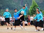 Unique ethnic women's football tournament