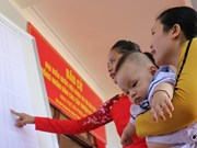 Joyful atmosphere in Truong Sa ahead of election day