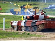 Vietnamese tank team performs well at Army Games 2021