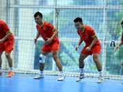 Vietnam futsal team readies for 2021 World Cup