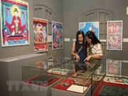 Exhibition features Thang Long citadel through woodblocks