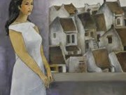Paintings depict expatriate's memory of homeland