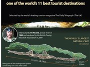 Son Doong cave - one of the world's 11 best tourist destinations