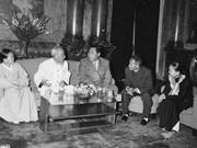 Photos of DPRK Premier Kim Il-sung's Vietnam visit in 1958