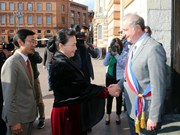 Legislative leader meets Mayor of Toulouse