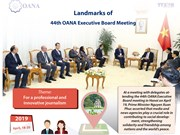 Landmarks of 44th OANA Executive Board Meeting