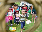 Lack of playgrounds for children during summer