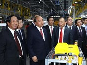 VinFast auto manufacturing factory opens in Hai Phong