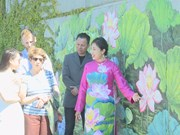 Mural celebrates Vietnam-France friendship