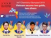 Vietnam ranks fifth at Int'l Chemistry Olympiad 2019