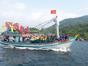 Nghinh Ong Festival in Kien Giang
