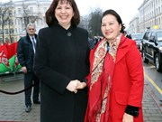 National Assembly Chairwoman Kim Ngan visits Belarus