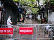 New isolation area for COVID-19 infection in Hanoi
