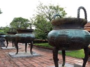 Nine tripod cauldrons of Nguyen dynasty