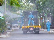Da Nang's district disinfected amid Covid-19 outbreak