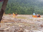 Efforts in search for Tra Leng landslide victims