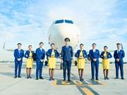 Vietravel Airlines announces uniforms, IATA symbol