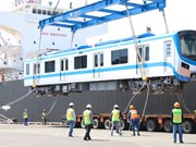 HCM City receives two more trains for Metro Line No.1