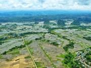 Majestic landscape of Muong village