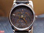 Watchmakers create unique carved products