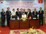 Kolon Industries plans 1 billion USD project in Binh Duong