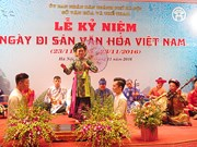 Vietnam cultural heritage day celebrated