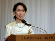 Myanmar: Aung San Suu Kyi urges armed groups to sign ceasefire deal